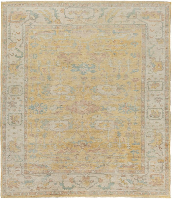 Wheat, Khaki, Sea Foam, Camel Vintage / Overdyed Area Rug