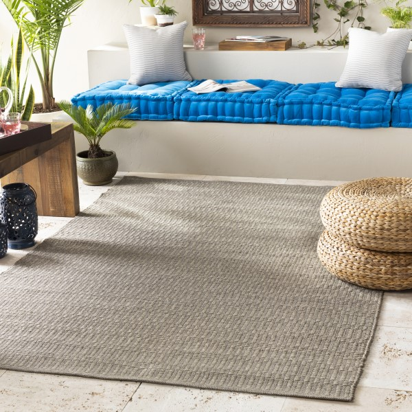 Taupe (GUN-6000) Solid Area Rug
