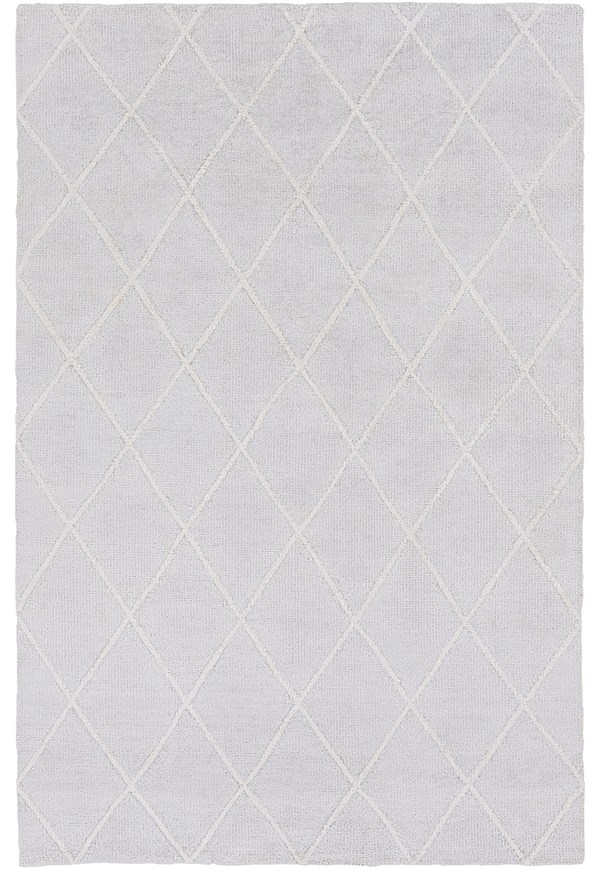 Light Gray, Ivory (JAQ-4000) Transitional Area Rug