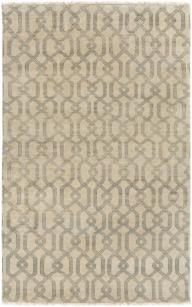 Charcoal, Khaki Contemporary / Modern Area Rug