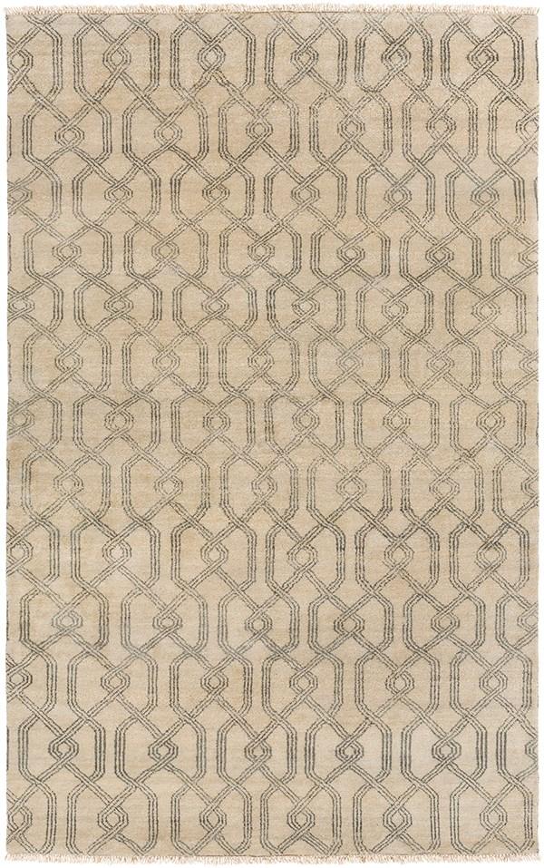 Charcoal, Khaki Transitional Area Rug