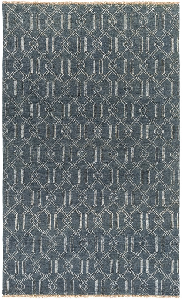 Charcoal, Ivory Transitional Area Rug