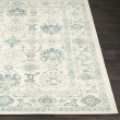 Product Image of Teal, Medium Gray, Beige Traditional / Oriental Area Rug