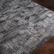Product Image of Black, Light Gray, White, Medium Gray Transitional Area Rug