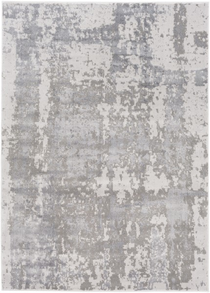 Taupe, Charcoal Transitional Area Rug
