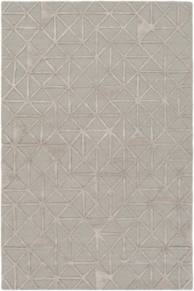 Light Gray, Taupe Contemporary / Modern Area Rug