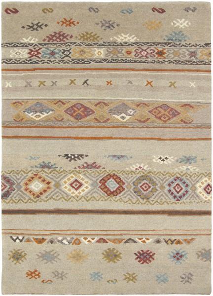 Khaki, Camel, Teal, Bright Orange, Tan (ESW-6000) Southwestern Area Rug