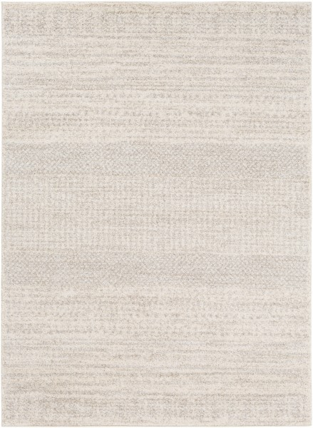 Ivory, Camel, Light Gray Transitional Area Rug
