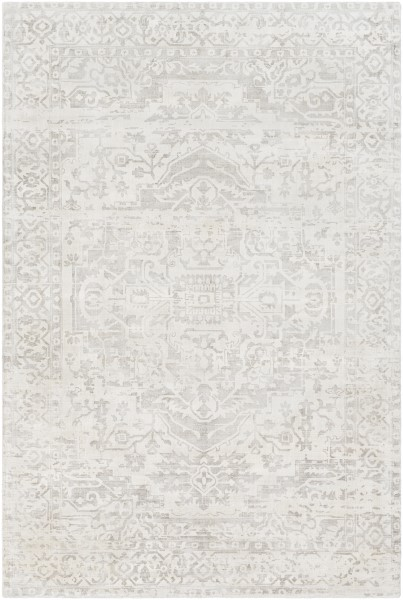 White, Camel (IRN-1006) Vintage / Overdyed Area Rug