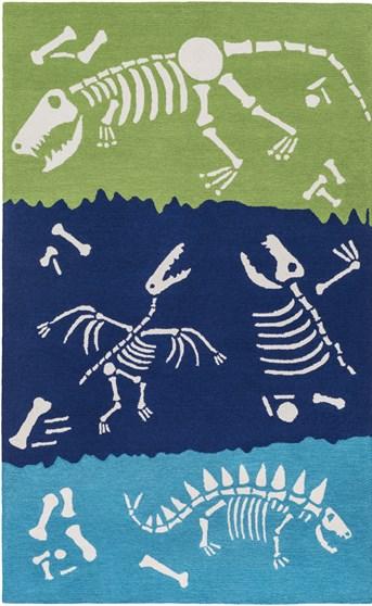 Peek-A-Boo Dinosaur Bones arearugs