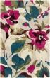 Product Image of Floral / Botanical Khaki, Garnet, Green, Blue, Pink, Brown (RVR-1001) Area Rug