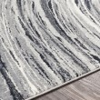 Product Image of Grey, Charcoal, White Contemporary / Modern Area Rug