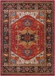 Product Image of Red, Black, Blue Traditional / Oriental Area Rug