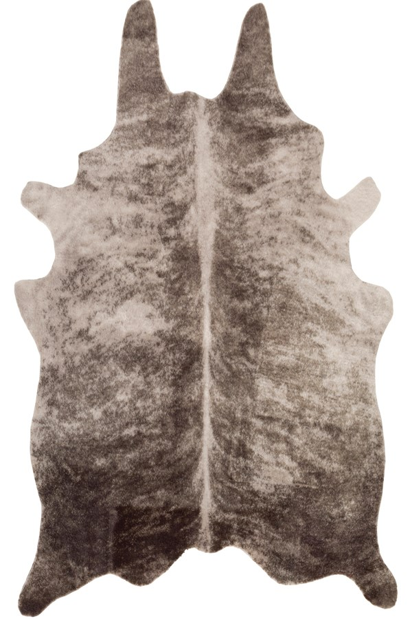 Light Gray, Camel (RUA-1001) Animals / Animal Skins Area Rug
