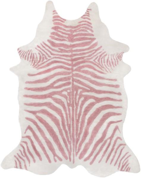 Rose, White (RUA-1006) Animals / Animal Skins Area Rug