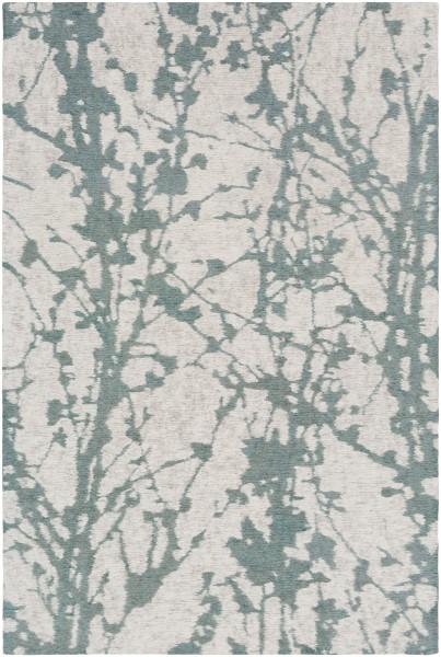 Mint, Taupe, Cream (PML-1005) Floral / Botanical Area Rug