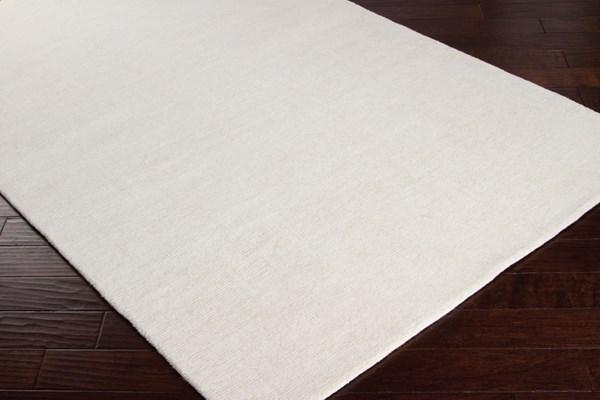 Cream (M-262) Solid Area Rug