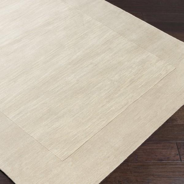 Light Grey, Cream (M-348) Contemporary / Modern Area Rug