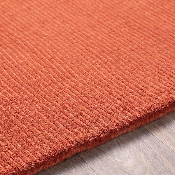 Burnt Orange (M-332) Solid Area Rug