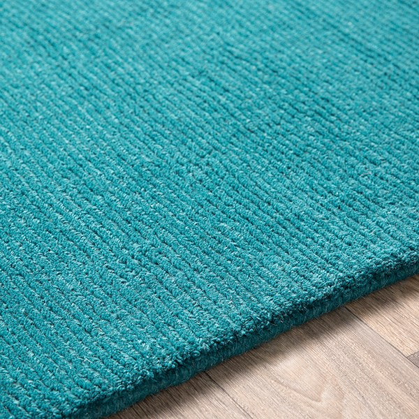 Teal (M-5330) Solid Area Rug