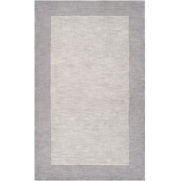 Medium Gray, Camel (M-312) Contemporary / Modern Area Rug