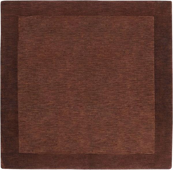 Brown (M-294) Bordered Area Rug