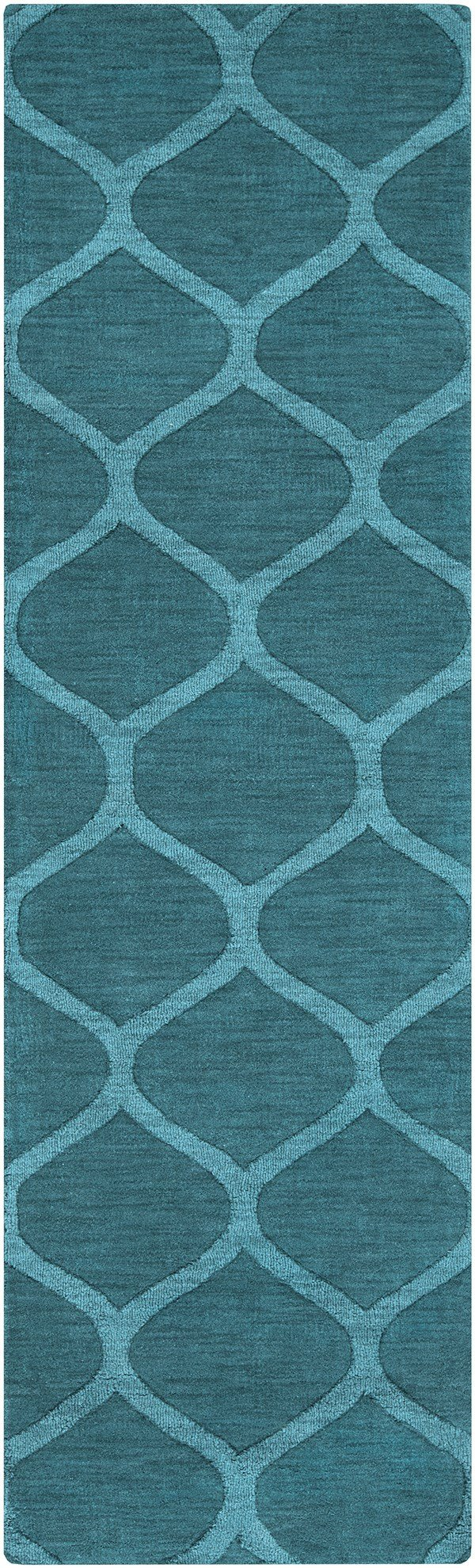 Teal (M-5109) Moroccan Area Rug