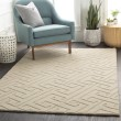 Product Image of Cream Contemporary / Modern Area Rug