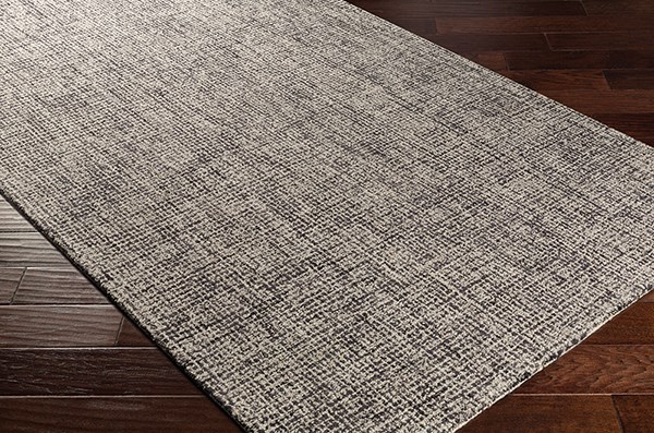 Navy, Charcoal (1002) Solid Area Rug