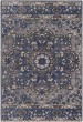 Product Image of Traditional / Oriental Navy, Charcoal, Grey (AMS-1017) Area Rug