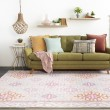Product Image of Blush, Lilac, Rose, Sky Moroccan Area Rug