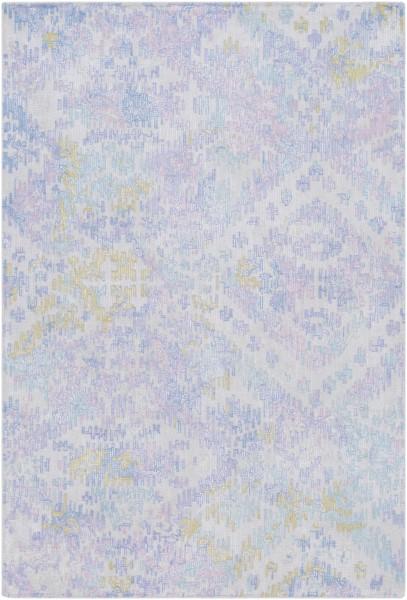 Denim, Bright Blue, Lilac Vintage / Overdyed Area Rug