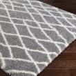 Product Image of Medium Grey, White (CYS-3411) Shag Area Rug