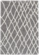 Product Image of Shag Medium Grey, White (CYS-3411) Area Rug