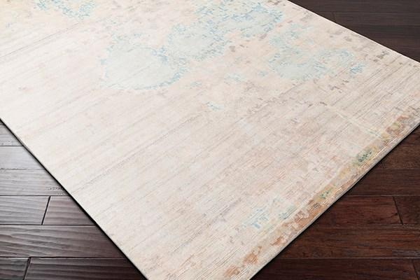 Sky Blue, Butter, Sea Foam, Beige (EPH-1000) Contemporary / Modern Area Rug