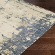 Product Image of Khaki, Dark Brown, Bright Blue, Dark Blue Vintage / Overdyed Area Rug
