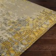 Product Image of Taupe, Bright Yellow, Charcoal, Light Grey Vintage / Overdyed Area Rug
