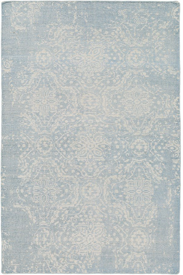 Denim, Khaki Vintage / Overdyed Area Rug