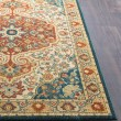 Product Image of Sea Foam, Burnt Orange, Khaki, Rust, Camel Traditional / Oriental Area Rug