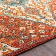 Product Image of Rust, Khaki, Teal, Sea Foam, Camel, Burnt Orange Traditional / Oriental Area Rug