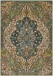 Product Image of Seafoam, Teal, Rust Traditional / Oriental Area Rug