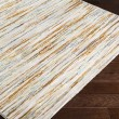Product Image of Burnt Orange, Lime, Taupe Contemporary / Modern Area Rug