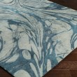 Product Image of Teal, Sage, Sea Foam Abstract Area Rug
