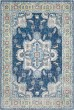 Product Image of Sky Blue, Bright Blue, Navy, Medium Grey, White Traditional / Oriental Area Rug