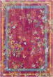 Product Image of Bright Pink, Bright Red, Rose Floral / Botanical Area Rug