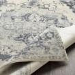 Product Image of Medium Gray, Charcoal, White Vintage / Overdyed Area Rug