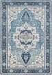 Product Image of Sky Blue, Bright Blue Traditional / Oriental Area Rug