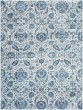 Product Image of Sky Blue, Bright Blue, Navy Traditional / Oriental Area Rug