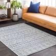 Product Image of Grey, Blue, Black (TNG-2306) Outdoor / Indoor Area Rug