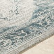 Product Image of White, Light Grey, Aqua (TNG-2302) Outdoor / Indoor Area Rug